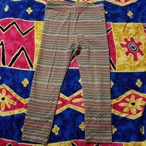 Circo Girls Colorful Heart Leggings 3T Toddler